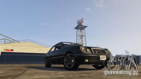 Mercedes-Benz W210 v1.0 для GTA 5 вид слева