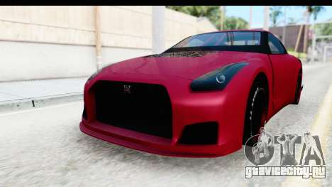 Nissan GT-R R35 Top Speed для GTA San Andreas