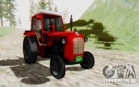 IMT 539 Deluxe для GTA San Andreas вид сзади слева