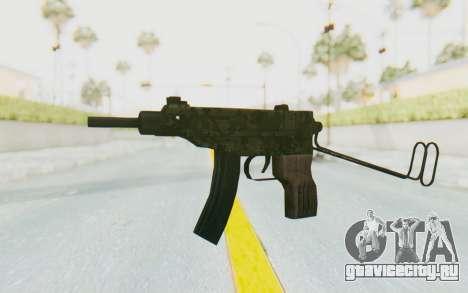 VZ-61 Skorpion Unfold Stock Green Flecktarn Camo для GTA San Andreas