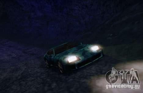 Камуфляж для Jester для GTA San Andreas вид справа