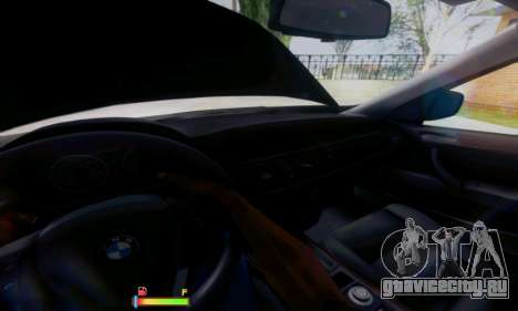 BMW X5 для GTA San Andreas вид сверху
