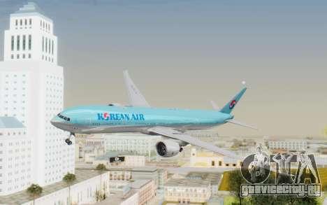 Boeing 777-300ER Korean Air для GTA San Andreas