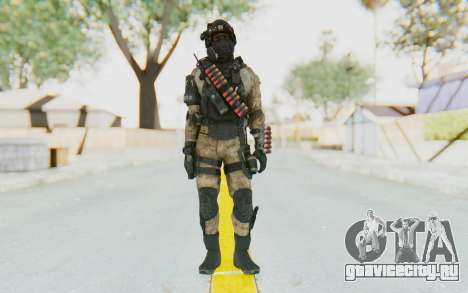 Federation Elite Shotgun Desert для GTA San Andreas второй скриншот