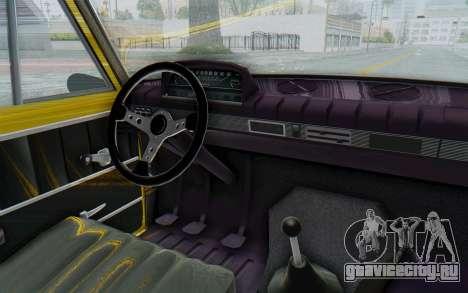 Seat 1430 Torrente для GTA San Andreas вид изнутри