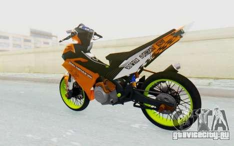 Yamaha Jupiter MX 135 Roadrace для GTA San Andreas вид слева