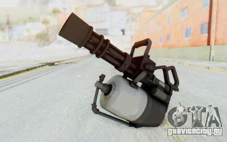 Minigun from TF2 для GTA San Andreas второй скриншот