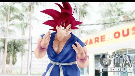 Dragon Ball Xenoverse Goku GT Adult SSG для GTA San Andreas