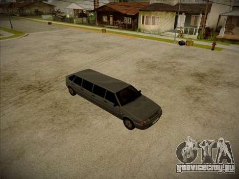 ВАЗ 2114 Девятидверная HQ модель для GTA San Andreas