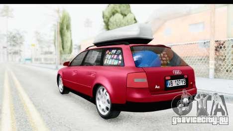 Audi A6 C5 Avant Sommerzeit для GTA San Andreas вид сзади слева