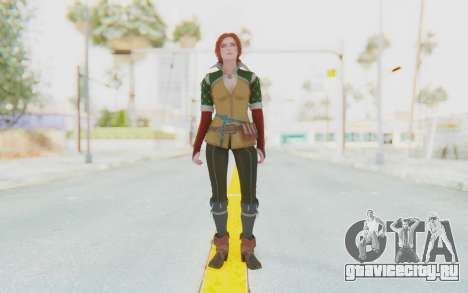 The Witcher 3 - Triss Merigold Default для GTA San Andreas второй скриншот