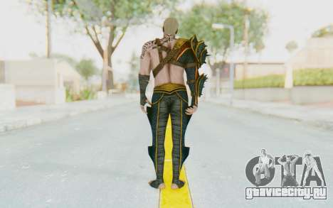 Injustice 2 - Aquaman для GTA San Andreas третий скриншот