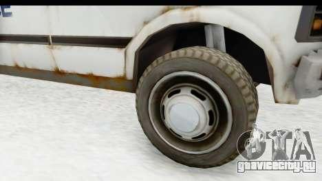 MGSV Phantom Pain Ambulance для GTA San Andreas вид сзади