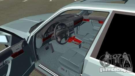 BMW 535i Gang для GTA San Andreas вид сзади