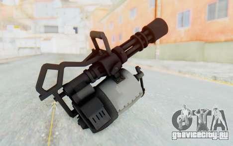 Minigun from TF2 для GTA San Andreas третий скриншот