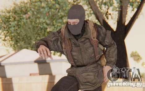 COD BO Russian Soldier Balaclava для GTA San Andreas