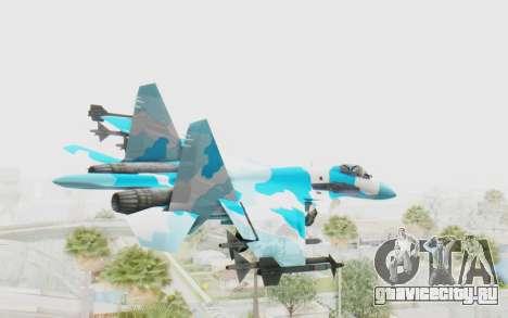 SU-37 American Ornament для GTA San Andreas вид справа