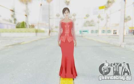 Linda Meilinda Kebaya Lady In Red для GTA San Andreas второй скриншот