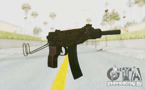 VZ-61 Skorpion Unfold Stock Russian Gorka Camo для GTA San Andreas