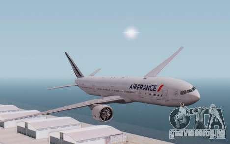 Boeing 777-300ER France Air для GTA San Andreas