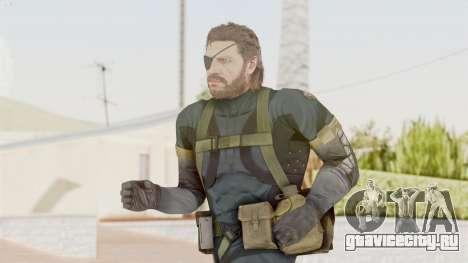 MGSV Phantom Pain Big Boss SV Sneaking Suit v2 для GTA San Andreas