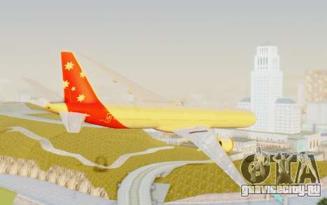 Boeing 777-300ER Virgin Australia v1 для GTA San Andreas вид слева