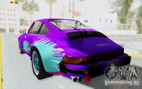 Porsche 911 Turbo 3.2 Coupe (930) 1985 для GTA San Andreas двигатель