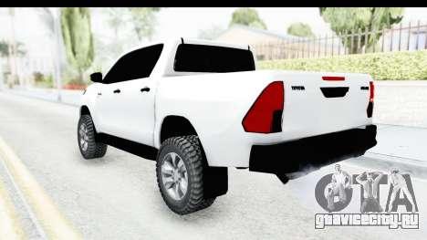 Toyota Hilux 2016 для GTA San Andreas вид слева