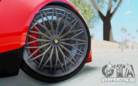 GTA 5 Pegassi Reaper IVF для GTA San Andreas вид сзади слева