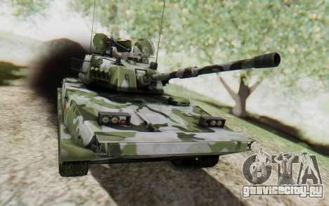 Norinco Type 63 для GTA San Andreas вид сзади слева