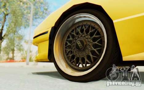 Elegy E30 для GTA San Andreas вид изнутри