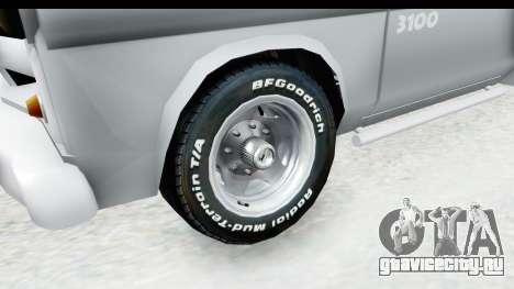 Chevrolet 3100 Diesel v1 для GTA San Andreas вид сзади
