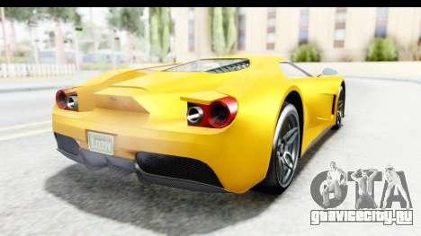 GTA 5 Vapid FMJ для GTA San Andreas вид справа