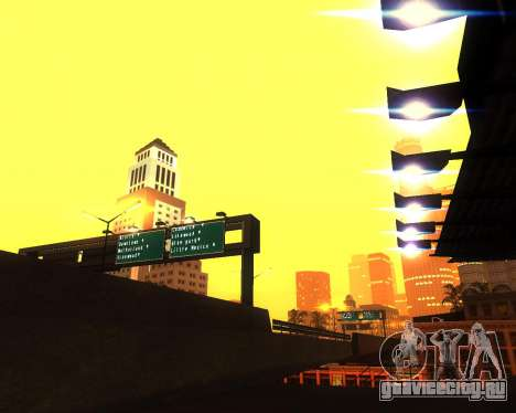Реалистичное ENB для средних ПК V.1 для GTA San Andreas пятый скриншот