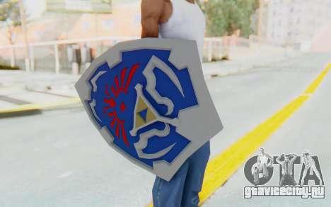 Hylian Shield from Legend of Zelda для GTA San Andreas третий скриншот