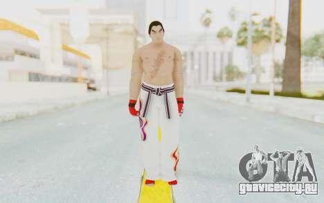 Kazuya Mishima Skin для GTA San Andreas второй скриншот