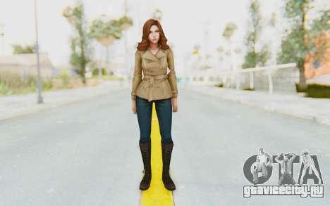 Marvel Future Fight - Black Widow (Civil War) для GTA San Andreas второй скриншот