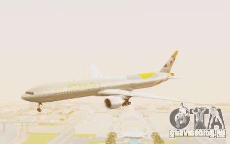 Boeing 777-300ER Etihad Airways для GTA San Andreas