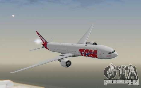 Boeing 777-300ER TAM Linhas Aéreas для GTA San Andreas