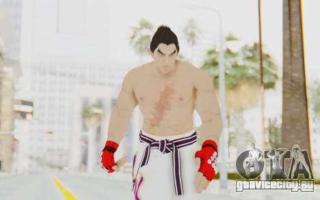 Kazuya Mishima Skin для GTA San Andreas