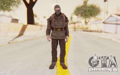 COD BO Russian Soldier Balaclava для GTA San Andreas второй скриншот
