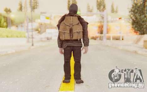 COD BO Russian Soldier Balaclava для GTA San Andreas третий скриншот