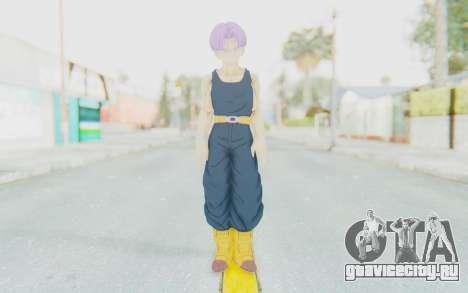 Dragon Ball Xenoverse Future Trunks Shirt для GTA San Andreas второй скриншот
