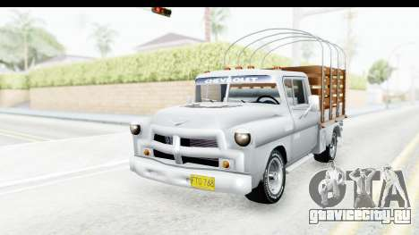 Chevrolet 3100 Diesel v1 для GTA San Andreas вид справа