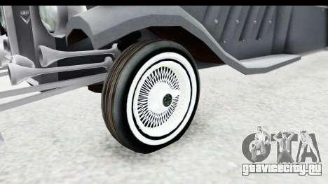 Unique V16 Sedan для GTA San Andreas вид сзади