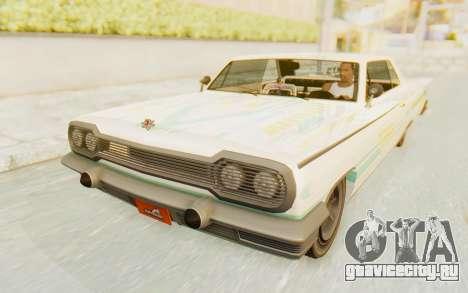 GTA 5 Declasse Voodoo для GTA San Andreas двигатель