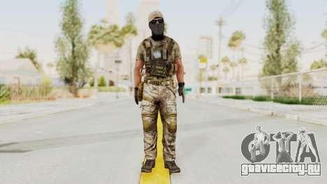 MOH Warfighter Grom Specops для GTA San Andreas второй скриншот