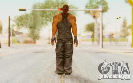 Def Jam Fight For New York - Busta Rhymes для GTA San Andreas третий скриншот