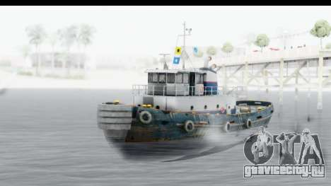 GTA 5 Buckingham Tug Boat v2 для GTA San Andreas