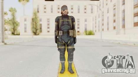 MGSV Phantom Pain Big Boss SV Sneaking Suit v1 для GTA San Andreas второй скриншот